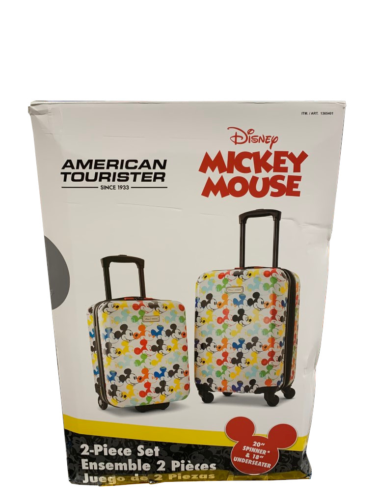 Costco American Tourister Disney 2 Piece Hardside Carry On Set Costco Fan The samsonite epsilon softside luggage set is made with recyclex fabric that was created using 100. costco american tourister disney 2