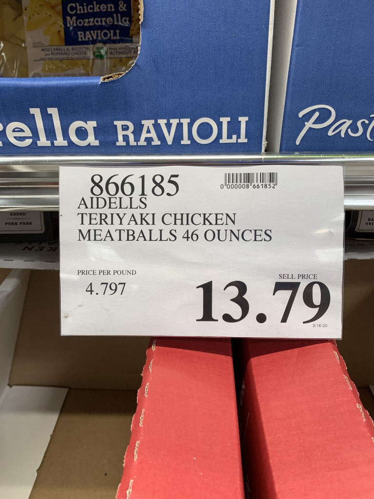 costco chicken meatballs