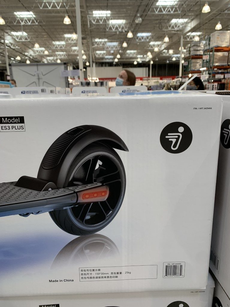 Costco Segway Scooter Ninebot Es3plus Electric Costco Fan