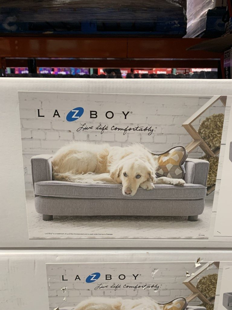 Costco Lazy Boy Dog Bed Bartlett Furniture W Pillow Costco Fan